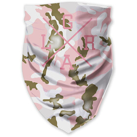 Loose Riders Tube Scarf, forest pink camo
